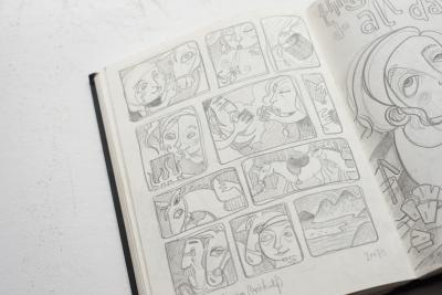 Skizzen und Studien - Comic