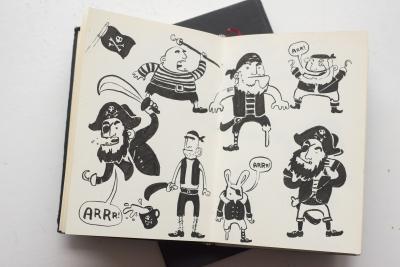 Skizzen und Studien - Piraten