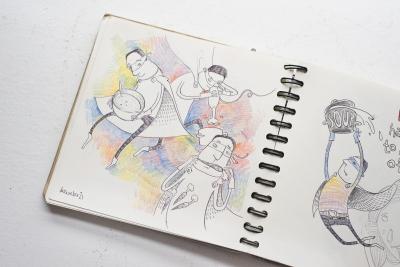 Skizzen und Studien